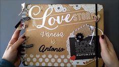 Album SCRAP fotos una historia de amor boda pareja