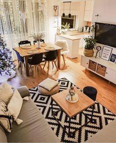 Apartment Interior Design, Interior Design Living Room, Living Room Designs, Interior Decorating, Home Living Room, Living Room Decor, Small Apartment Living, Small Living Rooms, Home Room Design
