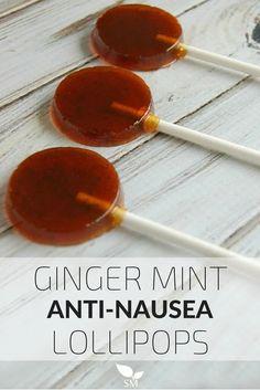 Ginger Mint Anti-Nausea Lollipops Recipe - Scratch Mommy