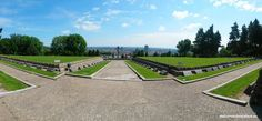 Slavin is a memorial monument and military cemetery of almost 7 000 Soviet soldiers who fell during the World War II while liberating the city in April 1945 Military Cemetery, Bratislava, World War Ii, Golf Courses, Memories, City, World War Two, Memoirs, Souvenirs