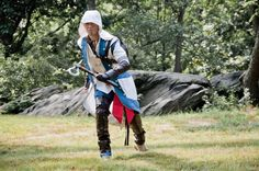 Connor (Nox D Martinez) Assassins Creed III  Ron Gejon photography