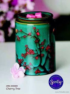 Cherry Tree Scentsy Warmer April 2014 Scentsy Warmer of the Month
