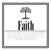 Daily Personal  Progress Faith 2
