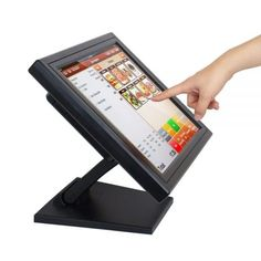 Touch Screen POS TFT LCD TouchScreen Monitor Take the queue from major software companies. Almost all applications now offer support to touchscreen functionality. Touch Screen Technology, Pc System, Pos Display, Tablet Phone, Multi Touch, Lcd Monitor, Kiosk, Usb, Ebay