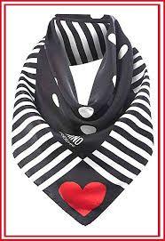 dfc2ca6cdc Image result for moschino scarf Striped Scarves, Silk Scarves, Black Scarves,  Polka Dot