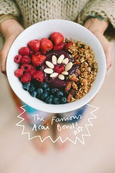 Acai Bowl Recipe by Ella Grace Denton of We Need to Live More