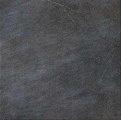 Pavigres || DELACONCA NERO || Tuile 12x12 & 6x6 placé en mosïque || Cuisine Essex Street, Engineered Wood, Kitchen Flooring, Mosaic Tiles, Stone, Porcelain Tiles, Interiors, Mood, Texture