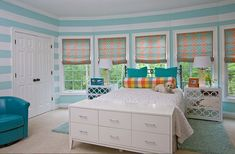 21 Stunning and Mesmerizing Turquoise Room Decoration Ideas & Designs Teen Room Designs, Girls Room Design, Living Room Designs, Bedroom Designs, Small Room Bedroom, Bedroom Sets, Bedroom Decor, Bedroom Furniture, Bedroom Turquoise