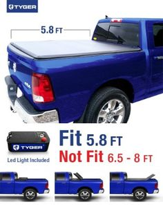 Tyger Auto Tri-Fold Pickup Tonneau Cover (Fits Dodge Ram 1500 feet inch) Tri-Fold Truck Cargo Bed Tonneau Cover (NOT (For Stepside)) >>> Continue to the product at the image link. Best Truck Bed Covers, Pickup Truck Bed Covers, Best Tonneau Cover, Tri Fold Tonneau Cover, Dodge Ram 1500 Accessories, Truck Accessories, Lifted Trucks Quotes, Vintage Pickup Trucks, 2018 Dodge