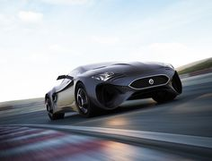future, Jaguar XKX, concept, sports car, Hussain Almossawi, Marin Myftiu, futuristic vehicle, auto, transportation, supercar