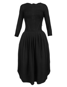 Robe goutte dos Noir Repetto... 420€ (gorgeous dress for an obnoxious price  for Viscose & Polyester)