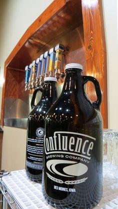 Confluence Brewing Co. - Des Moines, Iowa.