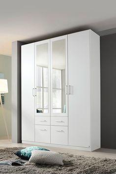 Dulapul Kevin surprinde prin simplitate și caracter practic.  #mobexpert #reduceri #wintersale #mobilierdormitor Tall Cabinet Storage, Locker Storage, Lockers, Room Decor, Bedroom, Furniture, Design, Bed Room, Locker