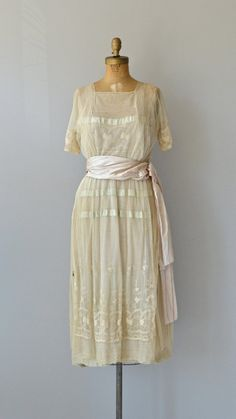 Worth Adaption dress vintage Edwardian dress by DearGolden