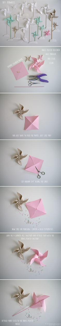 DIY Pinwheel