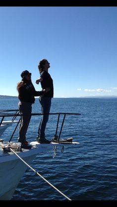 Titanic Pose.  Lake Titicaca June 2015