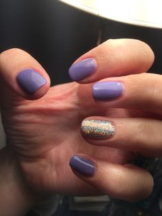 Raindrops #ibd and hologram glitter nails by me Caz X