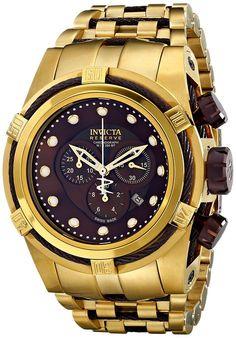 Invicta 12740 - Reloj para hombres color dorado