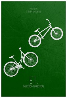 E.T. the Extra-Terrestrial (1982) ~ Minimal Movie Poster by Calm the Ham #amusementphile