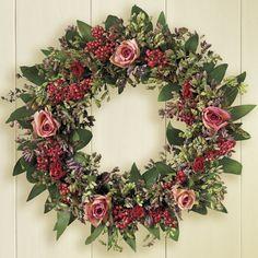 Sweet Rose Wreath