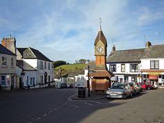 North Tawton, Devon UK. Where BBC's Clatterford is filmed. So cute!
