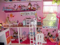 American Girl Doll Space most furniture came from Walmart or Target