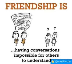 friendship is.. quotes - Google Search