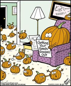 Pumpkin Halloween Humor  by Mark Parisi                                                                                                                                                                                 More