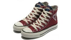 0a5098fc48 Converse Shoes burgundy Authentic DC Comics- Superman Chuck Taylor All Star  Womens Mens Canvas Sneakers High Tops - eurshirt Shop