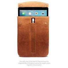 MacCase Premium Leather iPad Pro Sleeve