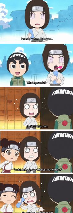 Neji, Lee & Tenten Owww, this is so cute! Naruto Sd, Naruto Family, Naruto Cute, Anime Naruto, Sasuke, Naruto Shippuden, Rock Lee And Tenten, Neji And Tenten, Shikatema