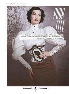 Steampunk Magazine http://www.pinterest.com/TheLadyApryle/if-there-be-steam/