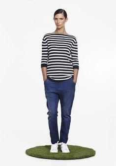 Solar Tee NINETEEN//46 SS15 100% cotton NZ$189 #knitwear #summerknitwear #summer2015