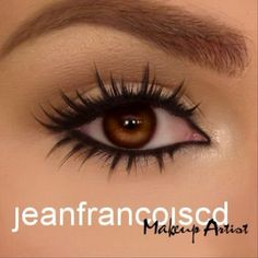Love these lashes and the look