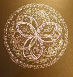 Glowing Mandala original