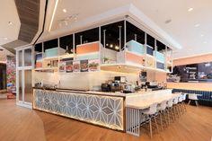 Joō de Rolls cafe by ARTTA Concept Studio, Hong Kong