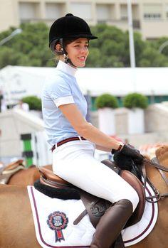 Charlotte Casiraghi- Gucci Equestrian