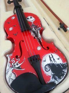 custom violin | Tumblr | Violin | Pinterest | Tim burton ...