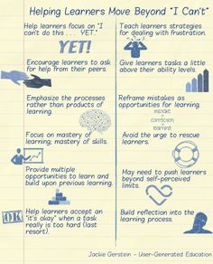 Too much school curriculum is based on one shot learning experiences. These tasks are graded and then the teacher moves onto the next task.So it is no wonder that when learners are given hands-on tasks such as those common to maker education, STEM, and STEAM, they struggle. Struggles with authentic tasks mimics real life so much more than completing those types of tasks and assessments done at most schools.