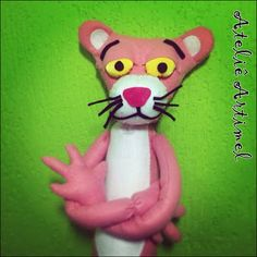 #handmade #artesanato #crafts #artesania #costura #sewing #almofadas #pillows #pinkpanther #panteracorderosa #personagens