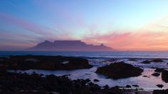View Towards Cape Town From Bloubergstrand, Africa Ocean Sunset, Beautiful Places In The World, Cape Town, South Africa, Surfing, Wallpaper, Gallery, Water, Travel