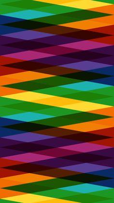 Colored Diamonds iPhone wallpaper