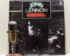 """ON SALE John Lennon (The Beatles) """"Rock N' Roll"""" (Scarce 1981 Uk Import- featuring Phil Spector production including """"Stand By Me"""")"""