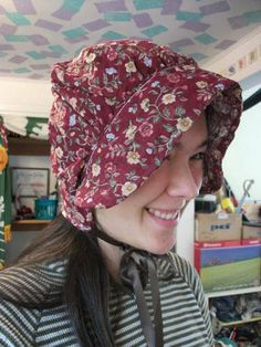 Another Whedonverse Swap: Pretty floral bonnet by padfoot (spikefan)
