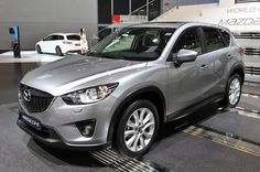 Production vehicle 2013 Mazda CX-5 released in Frankfurt yesterday.