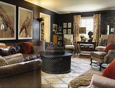 Traditional livingroom