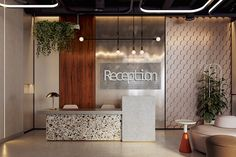 office interior design office interior design home office interior design office interior design interior design concepts office interior design ideas office interior design home office interior design Corporate Office Design, Office Reception Design, Office Space Design, Modern Reception Desk, Office Counter Design, Office Designs, Clinic Interior Design, Interior Design Website, Lobby Interior