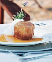Malva pudding with Amarula sauce- My new favorite South African desert