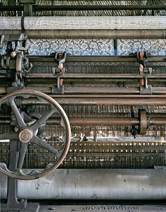 A jacquard lace machine.