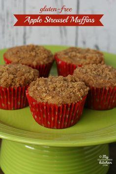 ~~Gluten-free Apple Streusel Muffins recipe | My GlutenFree Kitchen~~